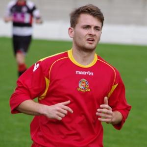 Ossett Town striker James Eyles
