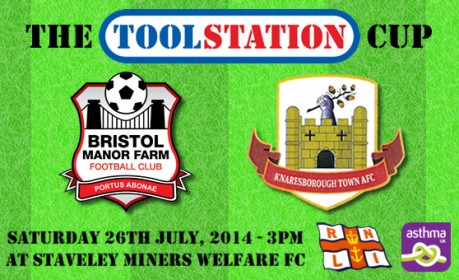 The Toolstation Cup Final will take place on Saturday afternoon