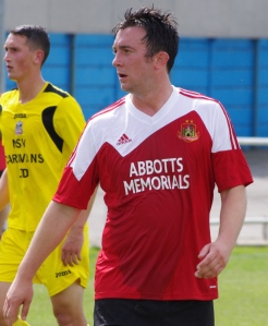 Knaresborough Town striker Colin Heath is struggling for match fitness