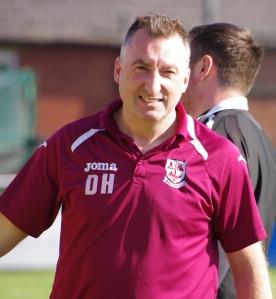 AFC Emley manager Darren Hepworth