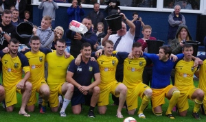 Tadcaster Albion prepare for their ALS Ice Bucket Challenge